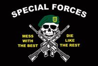 Rumbling Pride Special Forces Flag