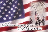 Rumbling Pride American Heroes Flag