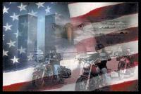 Rumbling Pride Freedom Riders Flag