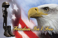 Rumbling Pride Freedom Isn't Free Flag