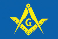 Rumbling Pride Masonic Flag