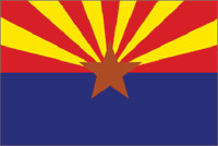 Rumbling Pride Arizona Flag