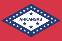 Rumbling Pride Arkansas Flag