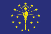 Rumbling Pride Indiana Flag