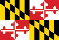 Rumbling Pride Maryland Flag