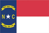 Rumbling Pride North Carolina Flag