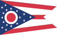Rumbling Pride Ohio Flag