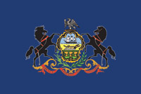 Rumbling Pride Pennsylvania Flag