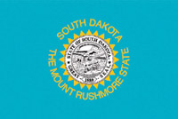 Rumbling Pride South Dakota Flag