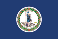 Rumbling Pride Virginia Flag