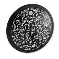 Engraved Derby Cover Black