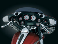 Kuryakyn Chrome Tweeter Dash Pods