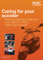 Motorbooks International Caring for Your Scooter Book