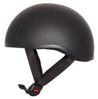Zox Nano Old School Matte Black Half Helmet
