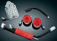 Kuryakyn Unicea LED Taillight and Turn Signal Kit