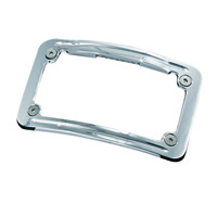 Kuryakyn Curved Lighted License Plate Frame