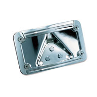 Kuryakyn Lighted Curved Laydown License Plate Mount