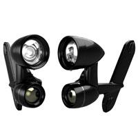 Kuryakyn Gloss Black Driving Lights