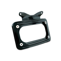 Kuryakyn Black Curved License Plate Frame