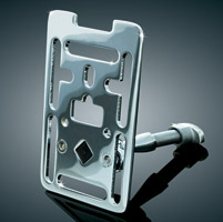 Kuryakyn Mounting Plate Update for Universal Handlebar Phone or Accessory Mounts