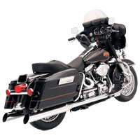 Bassani 4″ Chrome Slant-Cut Slip-On Mufflers