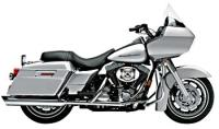 Cobra 4″ Slip-On Mufflers Slash-Down Style for Touring Models