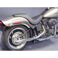 Cycle Shack Slash-Down Slip-On Mufflers