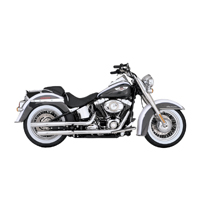 Vance & Hines Straightshots HS Slip Ons Chrome