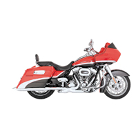Vance & Hines Turndown Exhaust Slip Ons Chrome