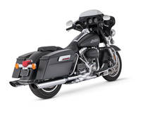 Vance & Hines Twin Slash Monster Oval Exhaust Slip Ons