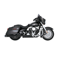 Vance & Hines Monster Oval Slip-Ons Chrome Tips