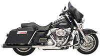 Bassani True Megaphone Mufflers with Performance Baffles