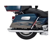 Vance & Hines Twin Slash Oval Slip-On Mufflers