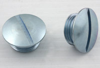 V-Twin Manufacturing Handlebar End Nuts