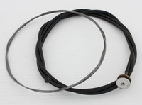 V-Twin Manufacturing Braided Outer Throttle and Spark Control Cable