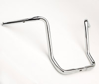 Cycle Smiths 16″ Chrome 1-1/4″ Bagger Ape Hangers for FLHT, FLHX, FLHR and FLTR