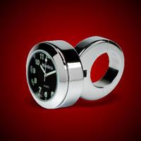 Marlin's Black Face Handlebar Clock