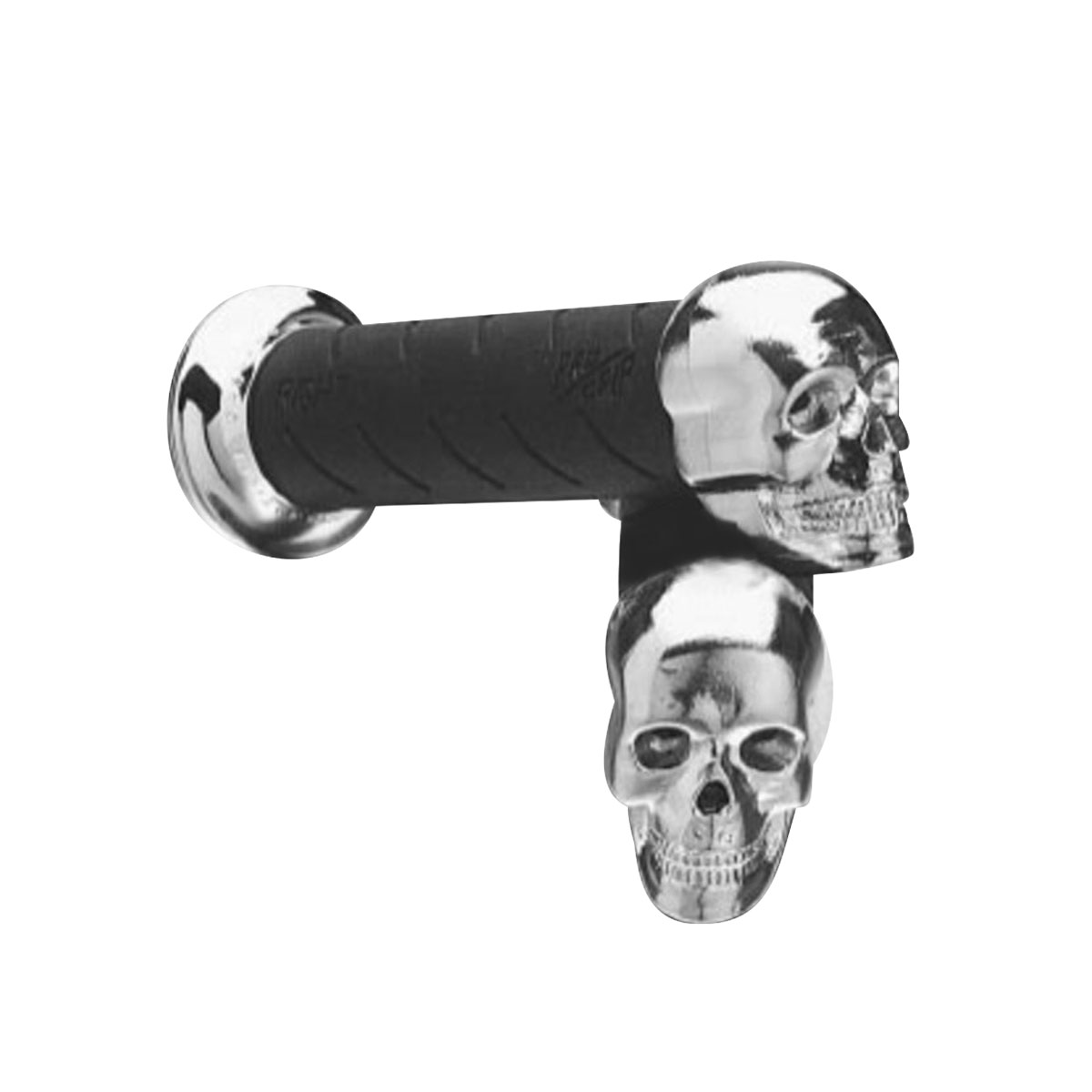Pro-Grip Damping Grips with Skull End Caps