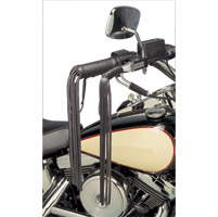 V-Twin Manufacturing Deluxe Leather Grip Covers