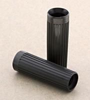 V-Twin Manufacturing Rib Style Black Grips