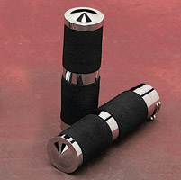 Accutronix Rubber Insert Style Elite Handlebar Grip Set