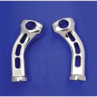 V-Twin Manufacturing Curved Handlebar Riser Set