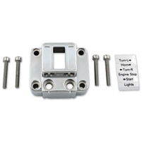 J&P Cycles® Vertical Stock-Style Switch Plate