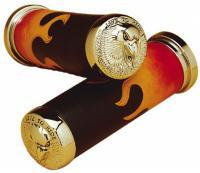 Eagle Leather Flamed Leather Hand Grip Set