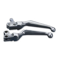J&P Cycles® Polished Wide Blade Lever Set
