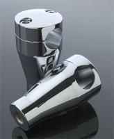 J&P Cycles® Straight Handlebar Riser Set