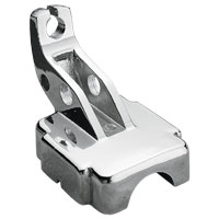 J&P Cycles® Chrome Clutch Lever Bracket