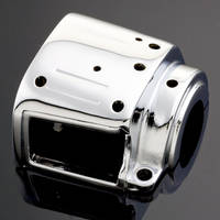 J&P Cycles Chrome Left Lower Switch Housing