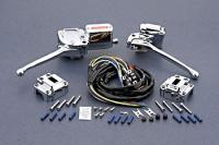 J&P Cycles® Complete Handlebar Control Kit