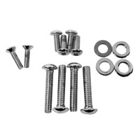 Chrome Bolt and Screw Dress-Up Kit